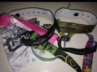 SXSW 14' wristbands